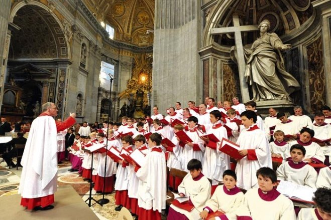 Sistine Chapel Choir - 1
