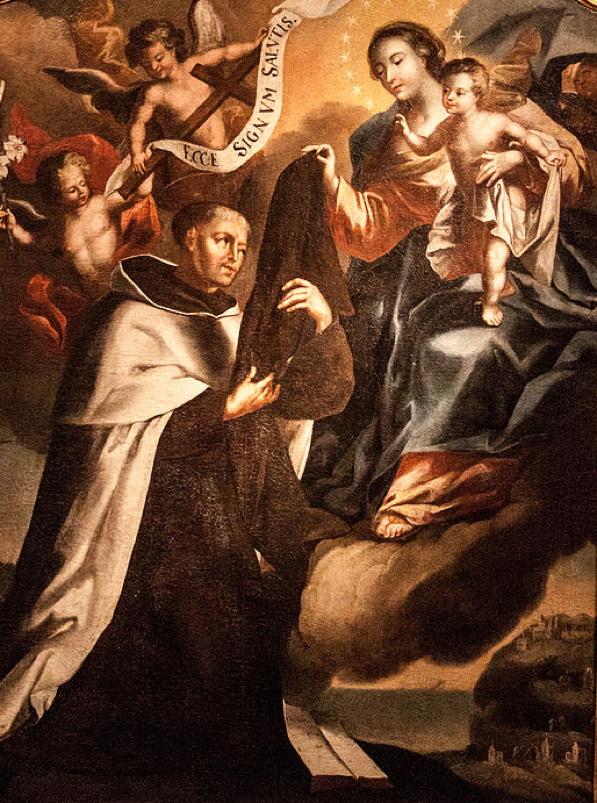 Lady of Mount Carmel Scapular